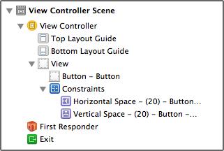 Constraints-button-constraints-in-document-outline